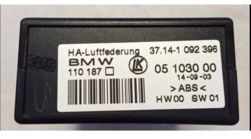 1 092 396 BMW E53 X5 00-06 OEM SUSPENSION SELF LEVEL CONTROL MODULE 1092396