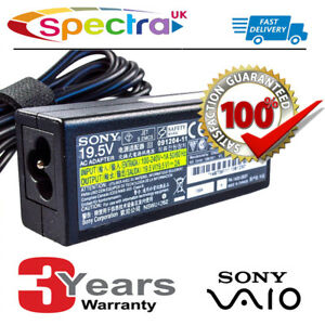 Genuine-Original-Sony-Vaio-VPCW-Laptop-Charger-AC-Adapter-Power-Supply-Cable-for