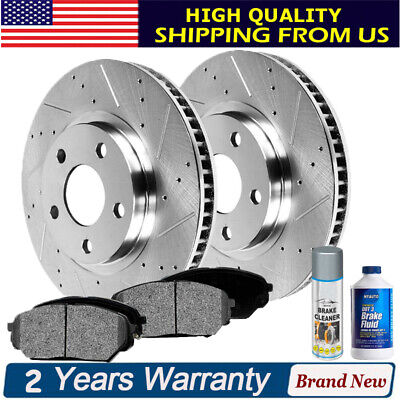 Front Brake Rotor For 2008-2011 Ford Focus 2010 2009 Raybestos 680677R