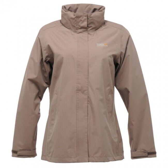 Womens Regatta Midsummer Wind & amp;Manteau imperméable à capuche avec doublure en filet à mailles PVC 53 €