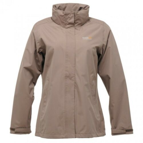 Womens Regatta Midsummer Wind /& Waterproof Hooded Mesh Lined Coat Jacket RRP £50