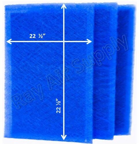 RayAir Supply 24x25 Dynamic Air Cleaner Air Filter Refill Replacement Pads 3-Pk