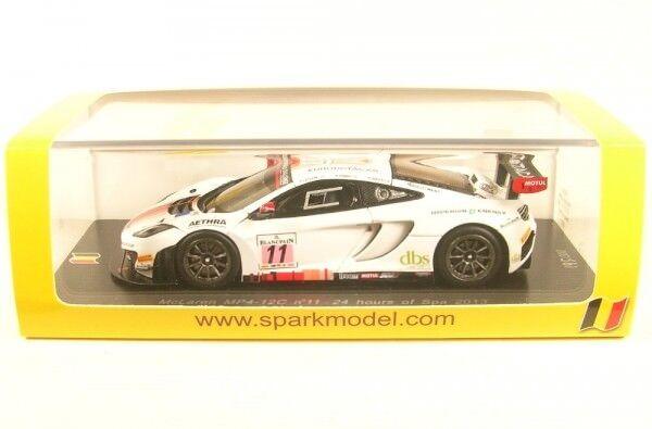 McLaren mp4-12c No. 11 24 Hours of Spa 2013 (A. Leclerc-M. PARISY-A. Soucek)