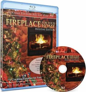 BEST SELLING Holiday Yule Log Fireplace