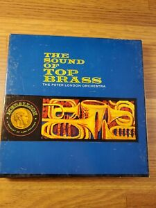 The Sound of Top Brass The Peter London Orchestra Reel to Reel MST 47000 4 track