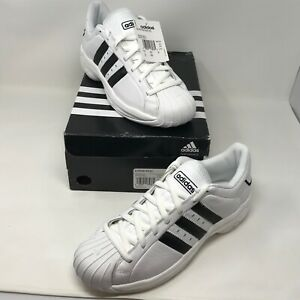 so cheap fashion style authentic quality Details about Adidas Superstar 2G Mens Size 10 NIB w/ Tags White/Back  Basketball Shoes RARE