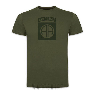 82nd AIRBORNE T-SHIRT All The Way D-day Normandy death from above ww2-  WARTSHIRT | eBay