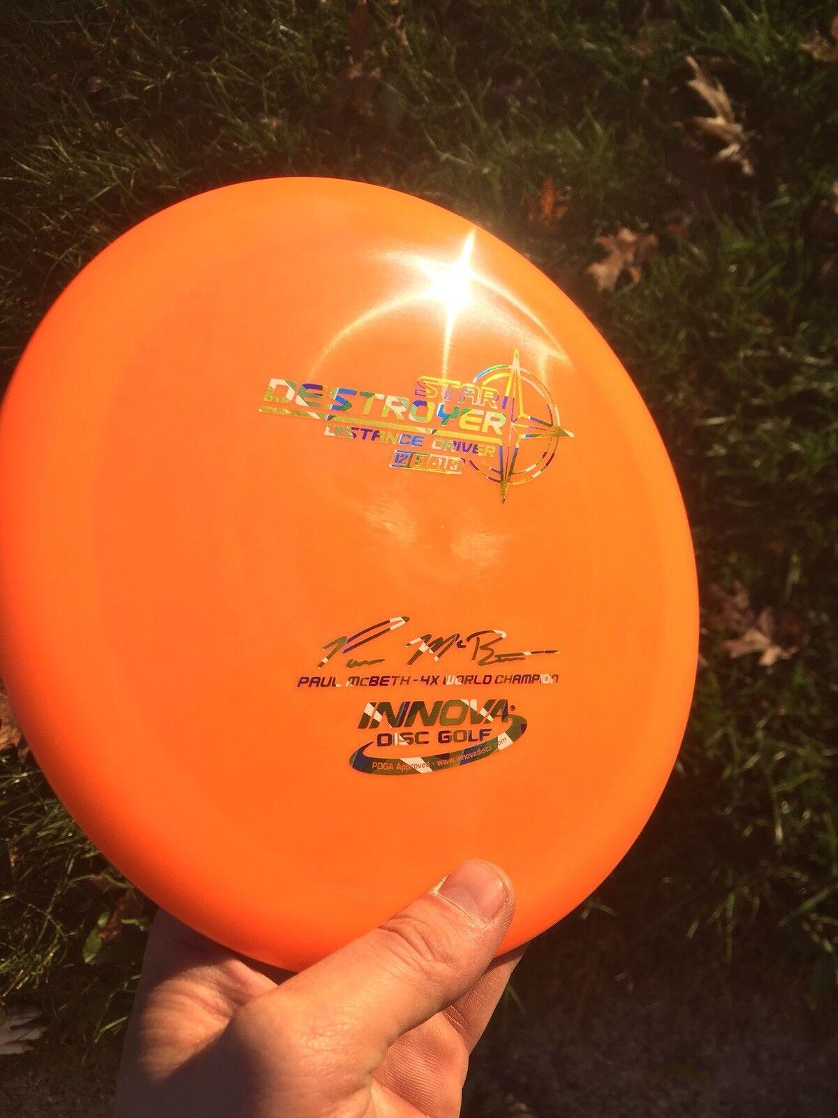 INNOVA STAR-LINE DESTROYER 175.01 GEOMETRIC GRAMS Orange W/COOL GEOMETRIC 175.01 HOT-STAMP 123850