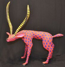Large Oaxacan Wood Carving by L. Pablo