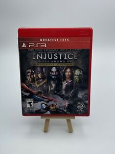 PS3 Injustice: Gods Among Us - Ultimate Edition (Sony PlayStation 3) Complete
