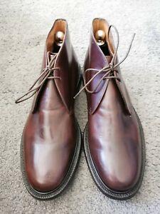 206- Boots Marron CHURCH'S 85G/42,5fr Bon État