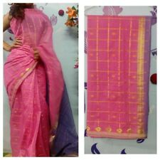 Beautiful Cotton Sari in Pink Color 30% 0ff hurry!!!