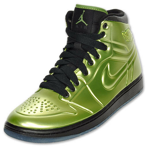 RARE Nike Air Jordan 1 AJ Anodized Altitude Green Mens 10 Shoes 414823-301 Gold The most popular shoes for men and women