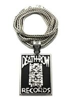 Deathrow Records Piece With 36 Franco Chain