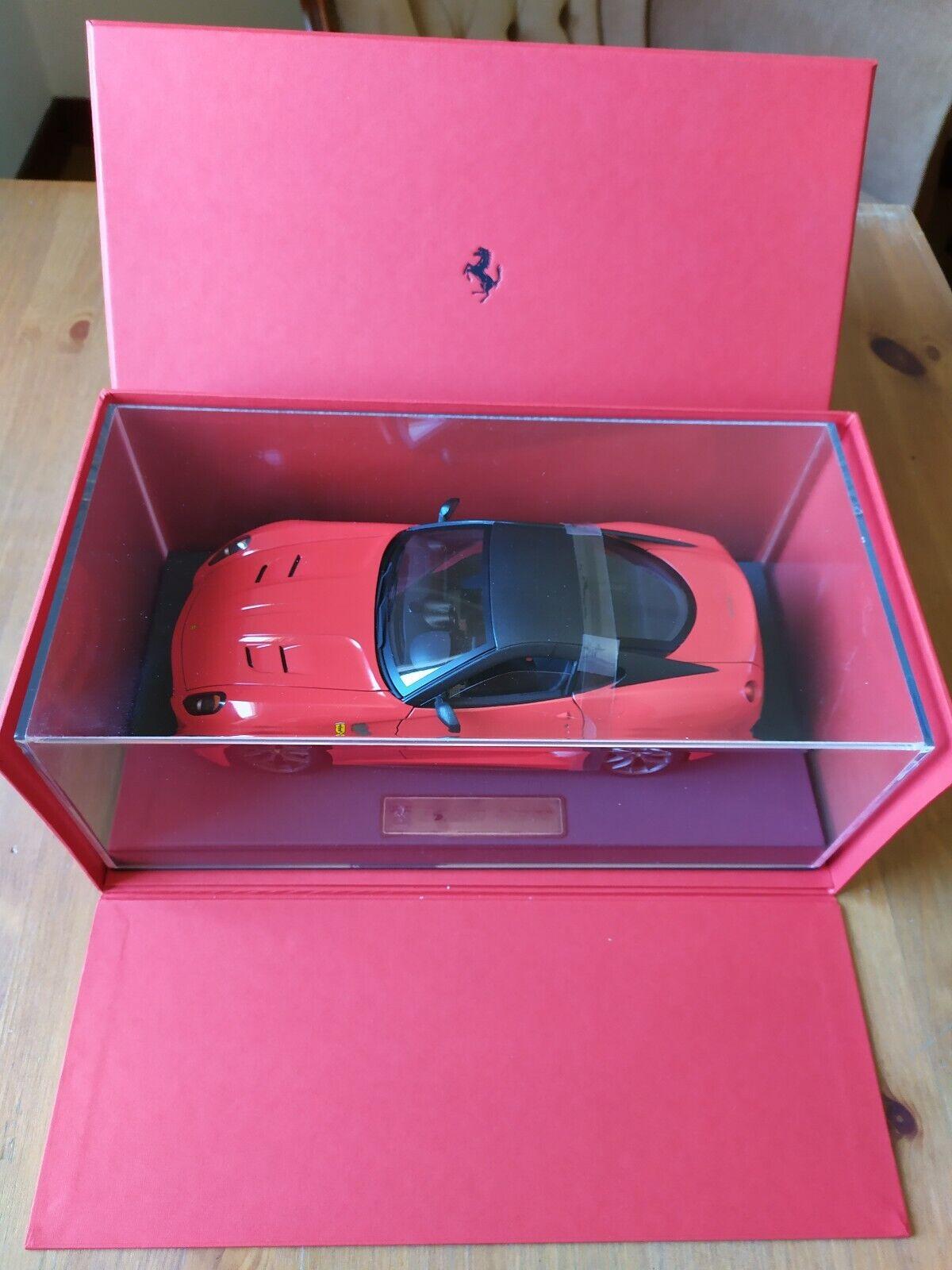 Ferrari 599 GTO hard top PER IL PRESIDENTE 1 18
