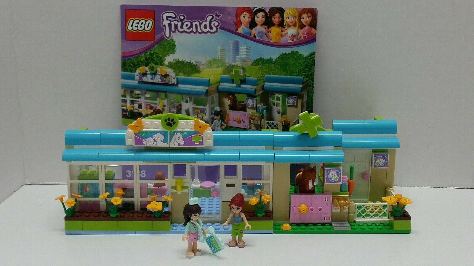 LEGO FRIENDS Heartlake VET INSTRUCTIONS Animals Horse 100