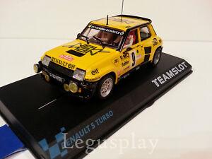 Slot-SCX-Scalextric-Team-Slot-11805-Renault-5-Turbo-034-New-Man-034-B-Saby-F-Sappey