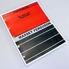 Massey Ferguson 1500 1800 Tractor Parts Catalog Manual Exploded View Assembly
