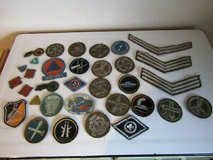 Rare Military Badges Migrant Skills Reg 19th Cavalry 1940s Defence Forces 1950s