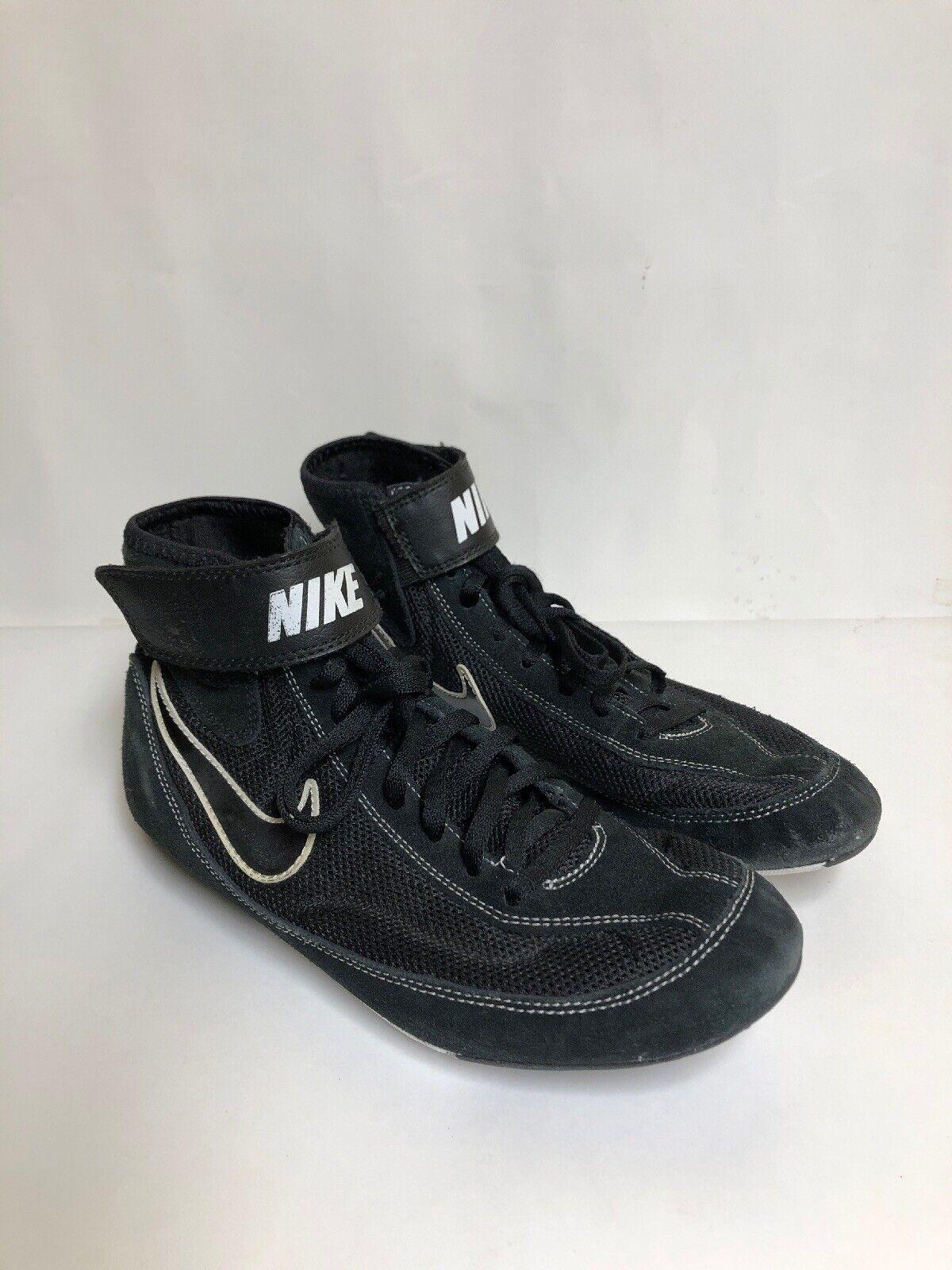 nike speed - vii bianco nero wrestling scarpe scarpe scarpe 366683-001 uomo numero 8 | benevento  | Una Grande Varietà Di Merci  | Scolaro/Signora Scarpa  | Gentiluomo/Signora Scarpa  | Sig/Sig Ra Scarpa  117114
