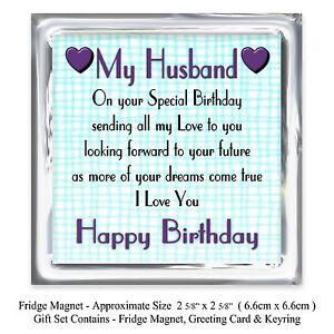 Husband Happy Birthday Gift Set
