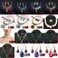 Fashion-Women-Crystal-Chunky-Pendant-Statement-Choker-Bib-Necklace-Jewelry thumbnail 9