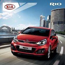 Kia Rio 2012 catalogue brochure polonais Poland