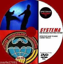 LEARN SYSTEMA STEP BY STEP ULTIMATE SELF DEFENCE GUIDE DVD HAND TO HAND COMBAT
