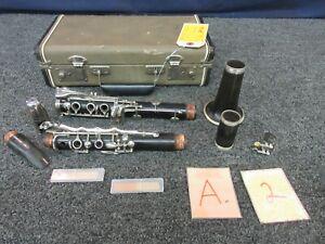 Intelligent Baronet Vintage En Bois Clarinette K5807 Instrument De Musique Woodwind Besoins Pads-afficher Le Titre D'origine Pour AméLiorer La Circulation Sanguine