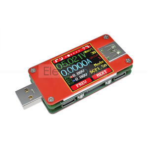 UT25-For-App-USB-Type-C-Color-LCD-Tester-Voltmeter-Ammeter-Voltage-Current-Meter