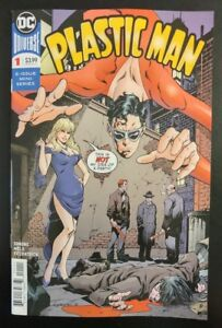 PLASTIC-MAN-1a-of-6-2018-DC-Universe-Comics-VF-NM-Book