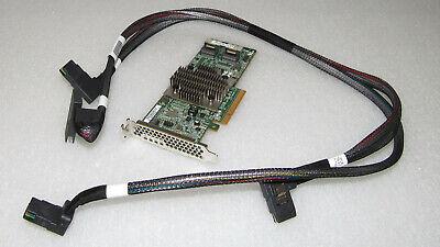 HP H240 12GB 2-Ports Int Smart HBA 726907-B21 779134-001  w//Low Brac 750053-001