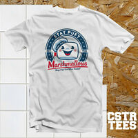 Stay Puft Marshmallows T Shirt festival summer unisex cool retro swag funny