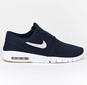 Details zu Nike Stefan Janoski Max SB Herren Skate Sneaker Schuhe Neu Obsidian 631303 407