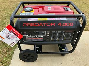 Harbor Freight Predator 4000 Generator 3200 Running Watts, 6.5HP (212cc) EPA III