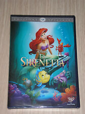 WALT DISNEY - LA SIRENETTA - DVD SIGILLATO (SEALED)
