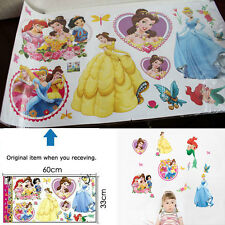 Removable Disney Snow White Princess Wall Sticker Decal Kids Room Nursery Decor