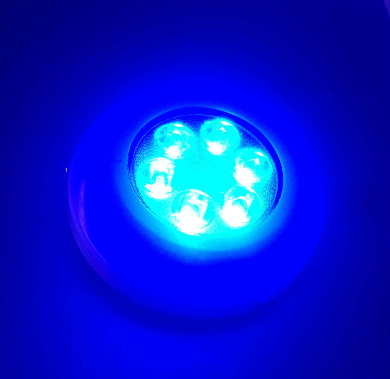 ULTRA BRIGHT BRIGHT BRIGHT COOL Weiß LED MARINE POLYMER UNDERWATER LIGHT SURFACE MOUNT f394f1