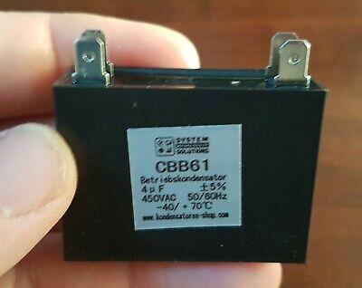 mit Kabel Betriebskondensator//Motorkondensator 50//60Hz 15uF//µF CBB61 450 VAC