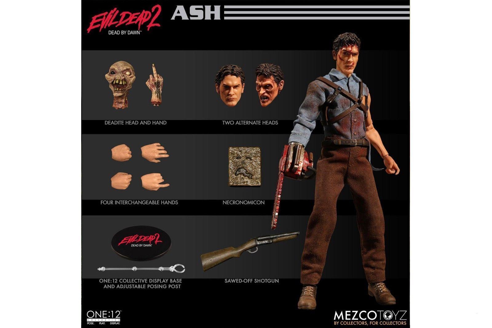Mezco Toyz 1 12 One 12 Collective Evil Dead 2 Ash Williams Figure - In Hand New