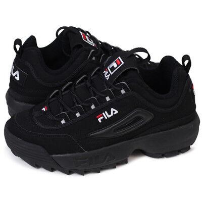 FILA Disruptor II 2 Triple Black Shoes