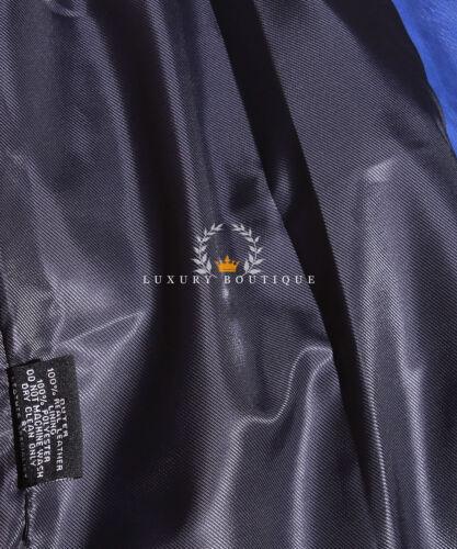 Jessie Blu Signore Nuovo Stile Biker Fashion Designer Pelle di Agnello Reale Cerato Giacca in Pelle