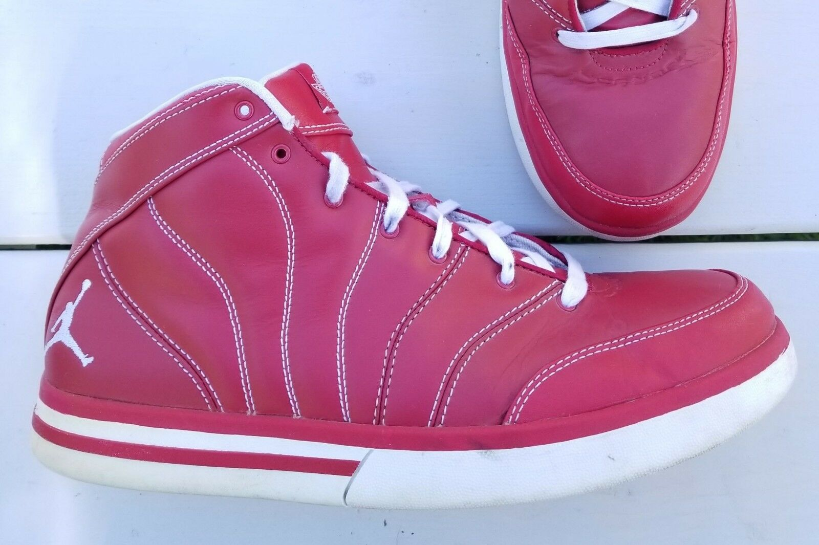 Nike AIR JORDAN Pro Classic High SOLID RED size 10.5 Mens Price reduction 363141-611 Wild casual shoes