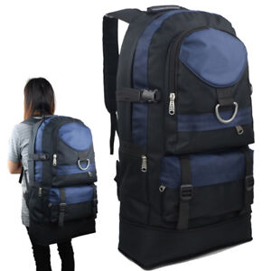 75772b47a220 Image is loading 60L-Travel-Backpack-Sports-Rucksack-Satchel-Hiking-Bag-