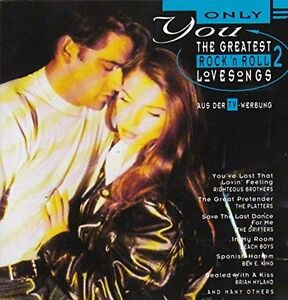 Only-You-2-Greatest-Rock-039-n-039-Roll-Love-Songs-16-tracks-Platters-Beach-Bo-CD