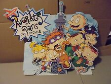 LARGE 3-D NICKELODEON RUG RATS IN PARIS THE MOVIE PROMO STANDUP,CHUCKY,N FRIENDS