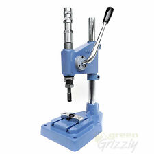 Professional stroke press for grommets, rivets, press fasteners, eyelets, AMG
