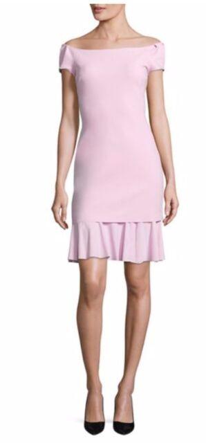 680c5eea4cb NWT La Petite Robe di Chiara Boni Dalane Off-The-Shoulder Dress Rosa Canina