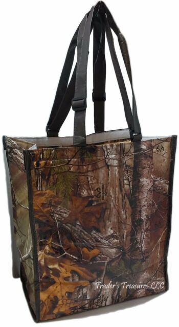 Realtree Camouflage Insulated Camo Tote Bag Cooler Environmentally Friendly New