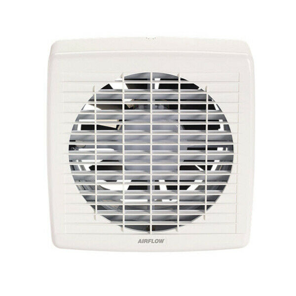 Airflow 7106A 200mm Auto Switched Wall Mounted Exhaust Fan